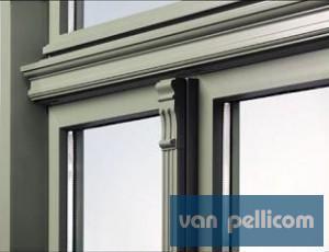 Zendow Autentica: PVC ramen in landelijke stijl