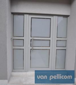 nieuwe pvc deuren
