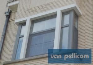 PVC ramen-afwerking