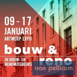 Bezoek ons op de Bouw & Reno beurs in Antwerp Expo